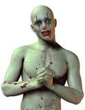 Bloody Clown Stock Image