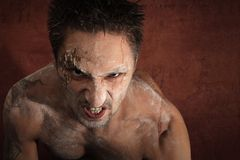 Bloody demon Stock Photography