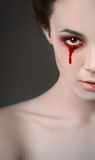 Bloody drop Stock Photography