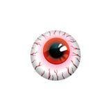 Bloody eyeball Royalty Free Stock Photo