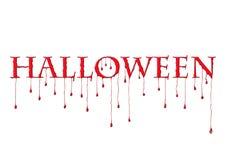 Bloody halloween Royalty Free Stock Image