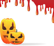 Bloody halloween background Royalty Free Stock Photo