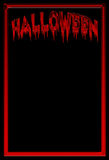 Bloody Halloween background Royalty Free Stock Image