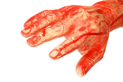 Bloody hand Royalty Free Stock Photography