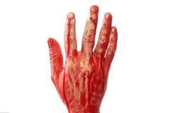 Bloody hand Stock Photos