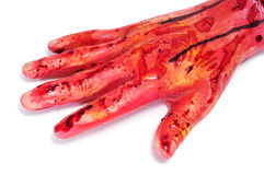 Bloody hand Stock Photography
