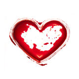 Bloody heart Stock Images
