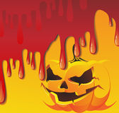Bloody Jack O Lantern Stock Image