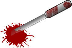 Free Bloody Knife Royalty Free Stock Photos - 2657168