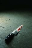 Bloody Knife Stock Image