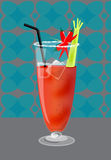 Bloody mary Royalty Free Stock Photography
