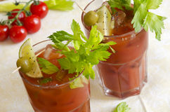 Bloody Mary lizenzfreie stockfotos