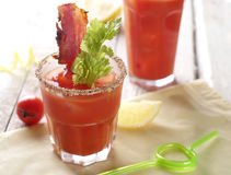 Bloody mary cocktail Stock Images