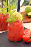 Bloody mary cocktail. Royalty Free Stock Photos