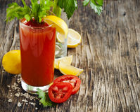 Bloody Mary cocktail. Stock Photo
