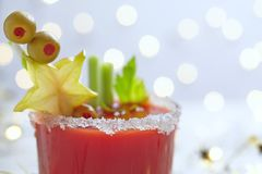 Bloody Mary Cocktail Royalty Free Stock Photo