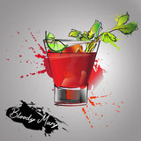 Bloody mary Royalty Free Stock Image
