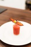 Bloody Mary disparado com bacon friável Imagens de Stock Royalty Free