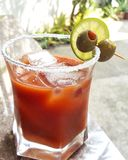 Bloody Mary on a Sunday Stock Photo