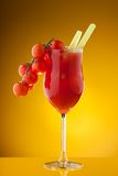 Bloody Mary with tomato vine Royalty Free Stock Photography