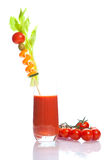 Bloody Mary - vegetable juice Stock Photo