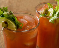 Bloody Marys Royalty Free Stock Photography