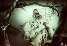Bloody mummy Stock Image