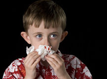 Bloody nose Royalty Free Stock Images