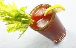 Bloody oder Getränk Mary-Caesar Lizenzfreies Stockfoto