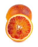 Bloody red oranges fruits Stock Photos