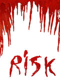 Bloody Risk Royalty Free Stock Photos