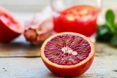 Bloody Sicilian oranges Stock Photography