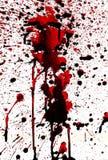 Bloody splashes Royalty Free Stock Photos
