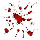 Bloody splashes Stock Photo