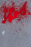 Bloody splatter Royalty Free Stock Image