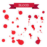 Bloody stains Royalty Free Stock Images