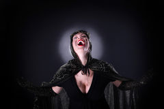 Bloody vampire Royalty Free Stock Photos