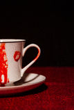 Bloody Vampire Teacup Royalty Free Stock Photo