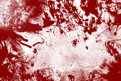 Bloody Wall Background Royalty Free Stock Photos