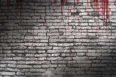 Bloody wall Royalty Free Stock Images