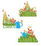 bloom ogród royalty ilustracja