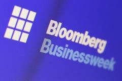 Bloomberg Businessweek Στοκ φωτογραφία με δικαίωμα ελεύθερης χρήσης