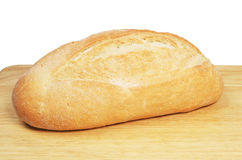 Bloomer Loaf On Board Royalty Free Stock Photos