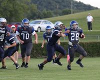 Bloomfield vs Spencer county middle. Stock Image