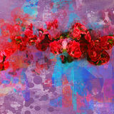 Blooming flowers background Royalty Free Stock Images