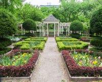 Blooming Garden Philadelphia Royalty Free Stock Image