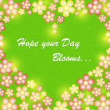 Blooming Heart Stock Photos
