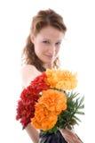 Blooming look Stock Photo