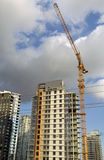 Blooming market. New property construction at Yaletown, Vancouver Royalty Free Stock Photos