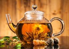 Blooming tea Stock Photos